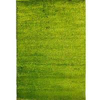 Пушистый  мягкий Ковер дорожка Puffy длинный ворс много цветов зеленый