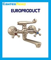 Смеситель Smes 142 Нержавейка Euro Product