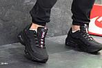 Мужские кроссовки Nike Air Max 95 (черные), фото 4