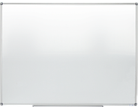 Доска магнитно-маркерная Buromax алюминиевая рамка, 60х90см.
