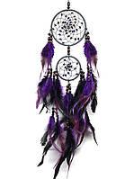 Оберег ловец снов фиолет(2), фото 1