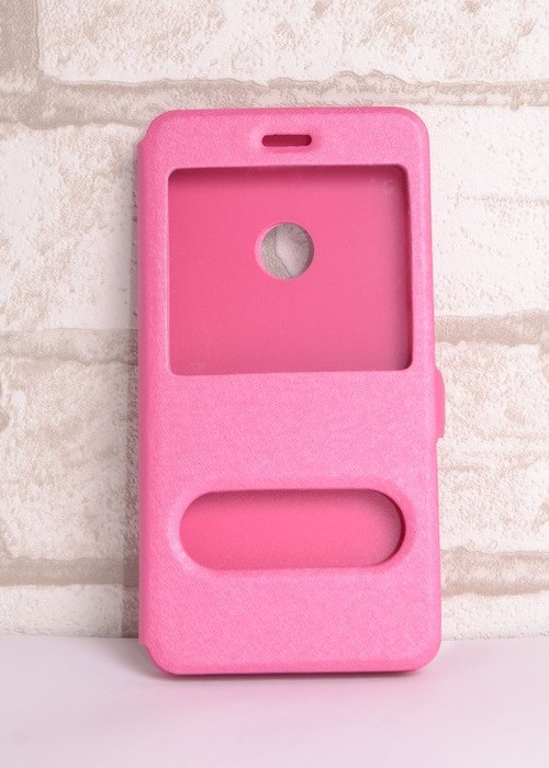 Чехол-книжка Holey для Huawei P8 lite 2017 pink