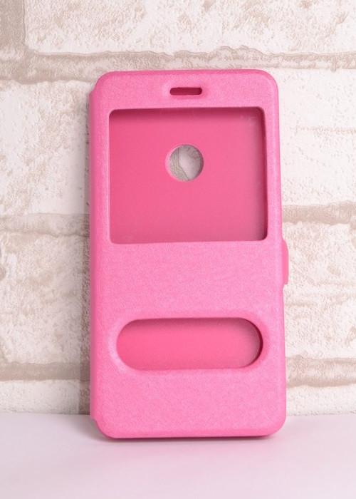 Чохол-книжка Holey для Huawei P8 lite 2017 pink