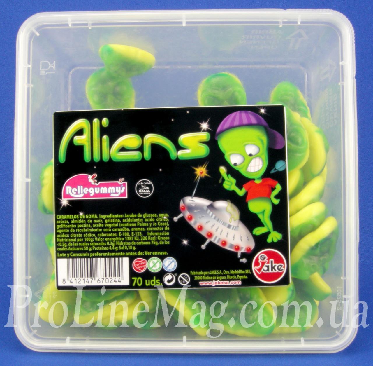 Жевательный Мармелад Инопланетянин Jake®Rellegummy'sAliens