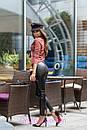 Кожаные женские лосины с завышенной талией 2bil284, фото 4