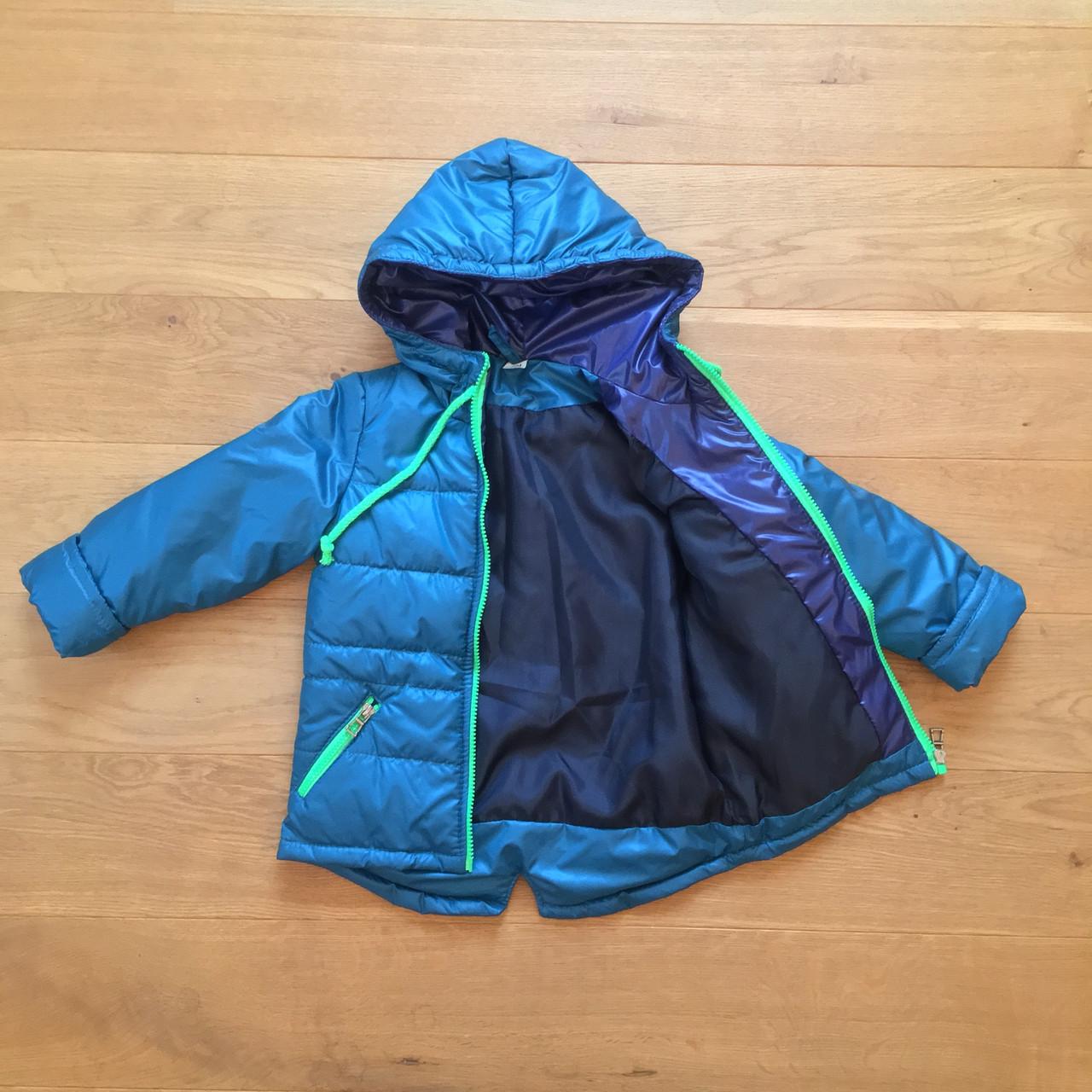 Весенняя курточка на мальчика 3 - 7 лет   Есть замеры 98, 104, 110, 116