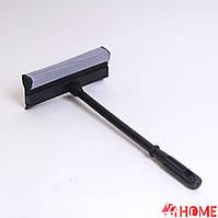 Швабра для чистки окон, губка 20 см, ручка 40 см