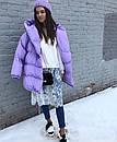 Женская объемная зимняя куртка с капюшоном 71kur144, фото 3