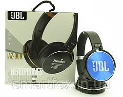 Блютус наушники  AZ-009 (bluetooth+SD card+FM+with cable)