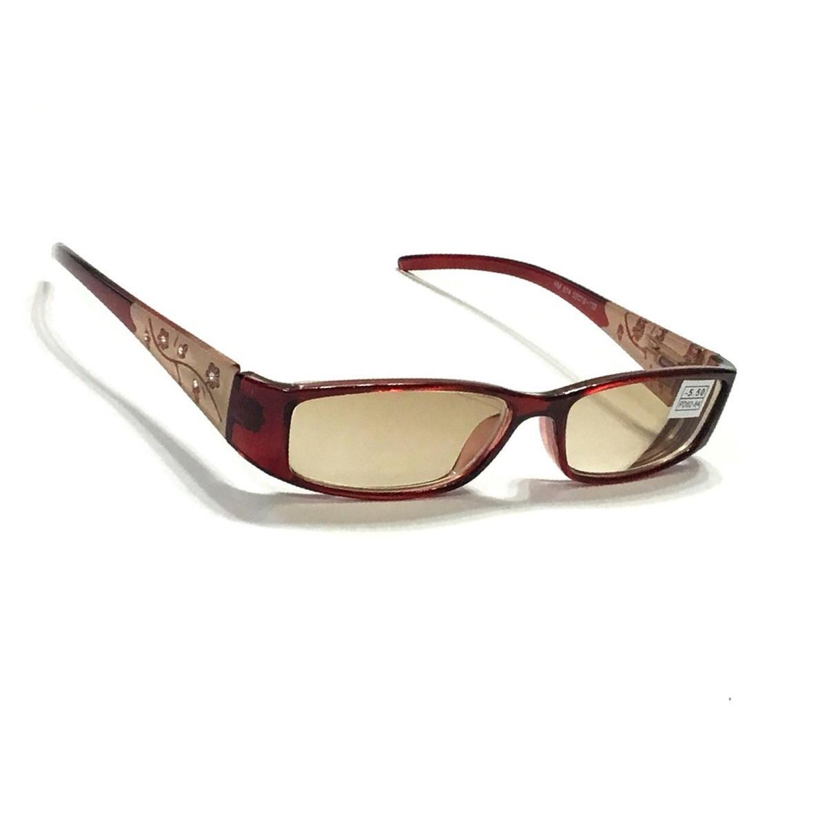 Жіночі окуляри з тонованою лінзою 874-2
