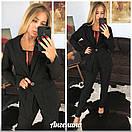 Женский костюм брючный с пиджаком 37kos862, фото 2