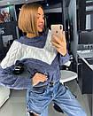Вязаный свитер женский крупной вязки 18dis416, фото 4