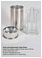 Пенал для стерилизации стеклянных чашек Петри.