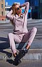Спортивный женский костюм теплый с худи 14spt499, фото 3