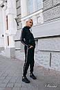 Спортивный женский костюм теплый с худи 14spt499, фото 7