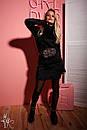 Платье-гольф из травки выше колена длиной 60plt2012, фото 3