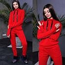 Ангоровый женский спортивный костюм с худи 52spt503, фото 4