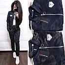 Трикотажный спортивный костюм женский милитари 9spt506, фото 4