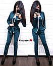 Брючный женский костюм с кардиганом 9kos882, фото 4