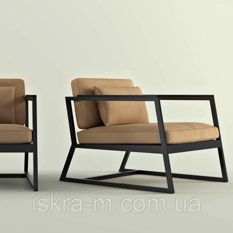 Кресло с подушками лофт