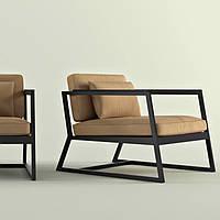 Кресло с подушками лофт, фото 1