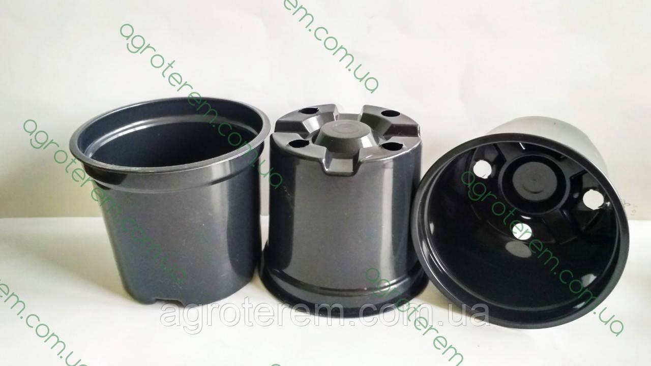 Горщик склянку 90 мм х 80 мм (Україна), технологічний для розсади круглий.