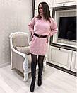 Вязаная женская туника с высоким горлом 33plt2020, фото 5