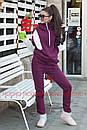 Утепленный женский костюм на флисе спорт 72spt515, фото 2