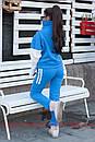Утепленный женский костюм на флисе спорт 72spt515, фото 3