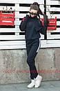 Утепленный женский костюм на флисе спорт 72spt515, фото 4