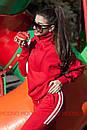Утепленный женский костюм на флисе спорт 72spt515, фото 5