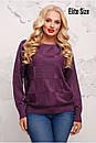 Женский прямой свитер из люрекса 6blr1133, фото 2