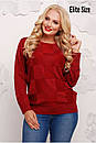 Женский прямой свитер из люрекса 6blr1133, фото 3