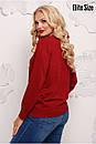Женский прямой свитер из люрекса 6blr1133, фото 4