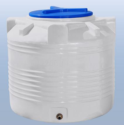 Бочки для воды 200 литров вертикальные, фото 2