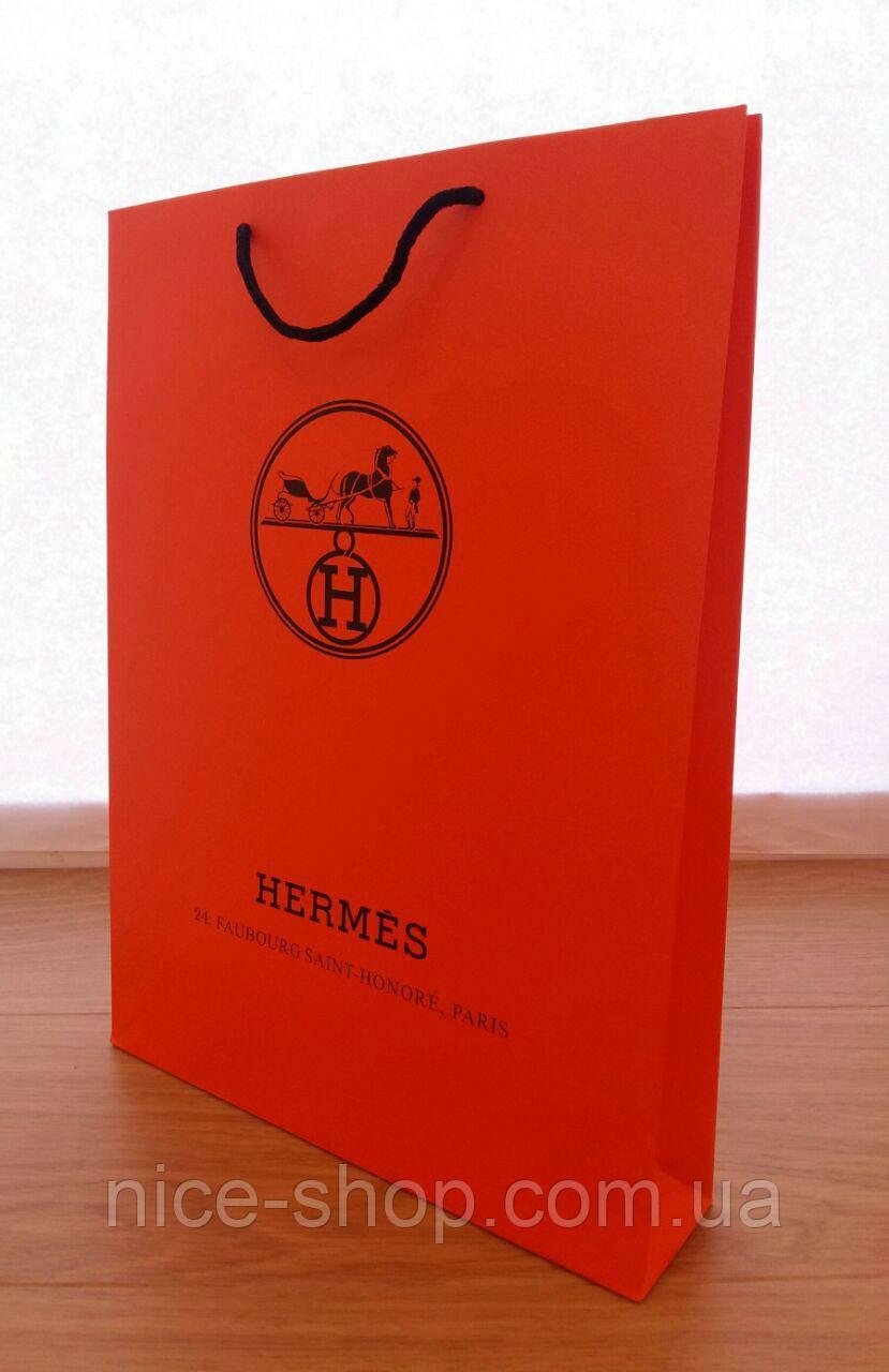 Подарочный пакет Hermès: вертикаль, mахi