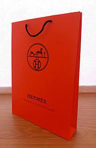 Подарунковий пакет Hermès: вертикаль, махі