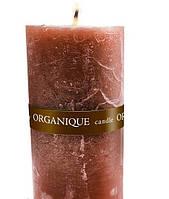 Свеча ароматерапевтическая большая 150*70 - Корица (Коричневый), 570 г
