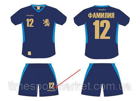 Накатка номера на футбольные шорты, фото 2