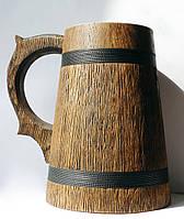 Бокал деревянный