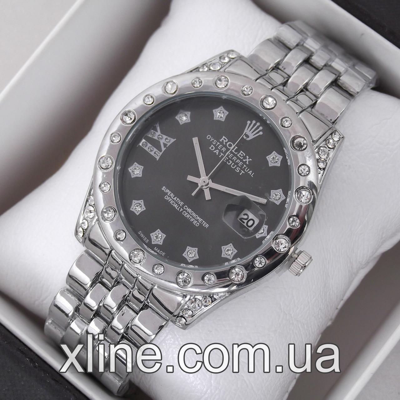 Женские наручные часы Rolex M199 на металлическом браслете