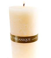 Свеча ароматерапевтическая большая 150*70 - Ваниль (Бежевый), 570 г