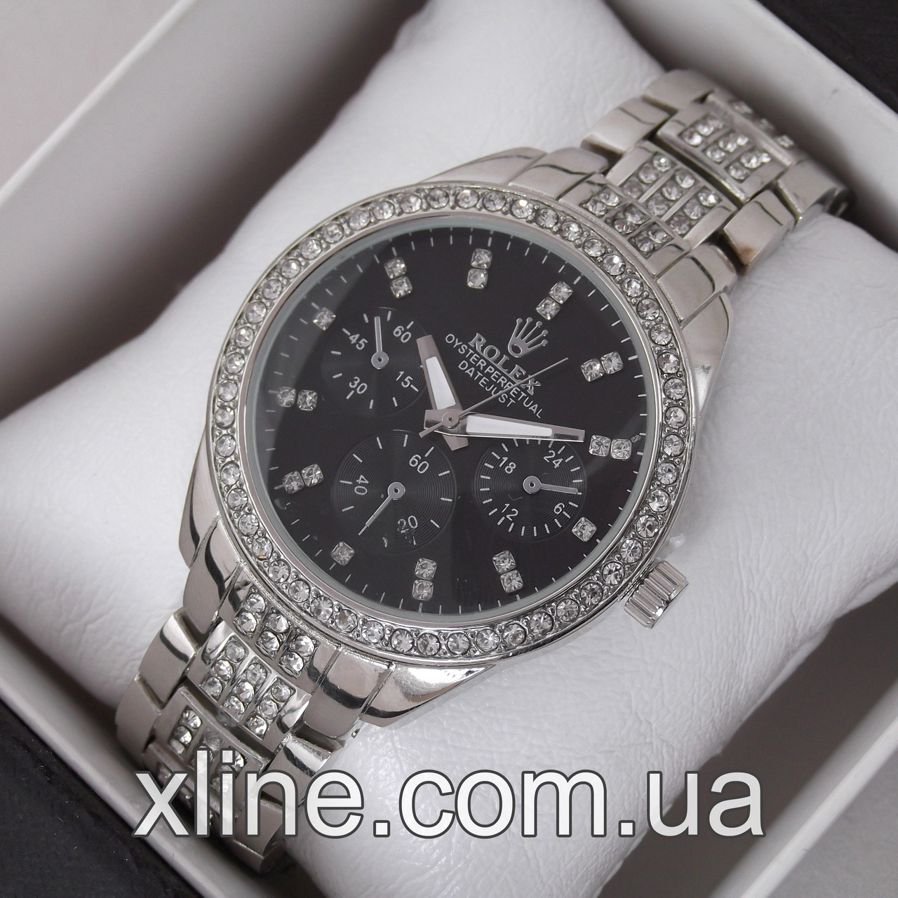 Женские наручные часы Rolex M202 на металлическом браслете