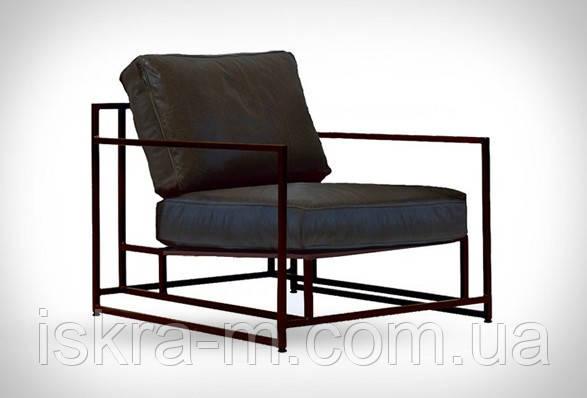 Кресло мягкое лофт