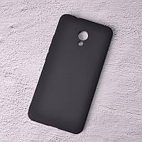 Силиконовый чехол SlimCase для Meizu M5s black
