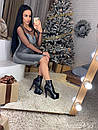 Платье из люрекса облегающее с сеткой 73plt2114, фото 4