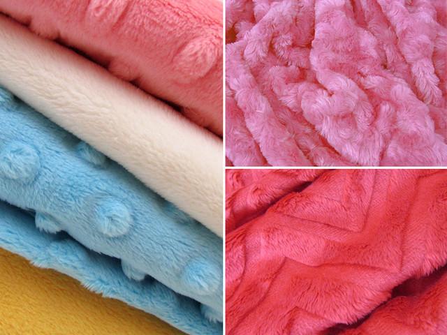 ткань минки плюш