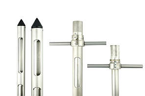 Пробоотборник зерна - РП с поперечными ручками L - 1.4 d - 0.35