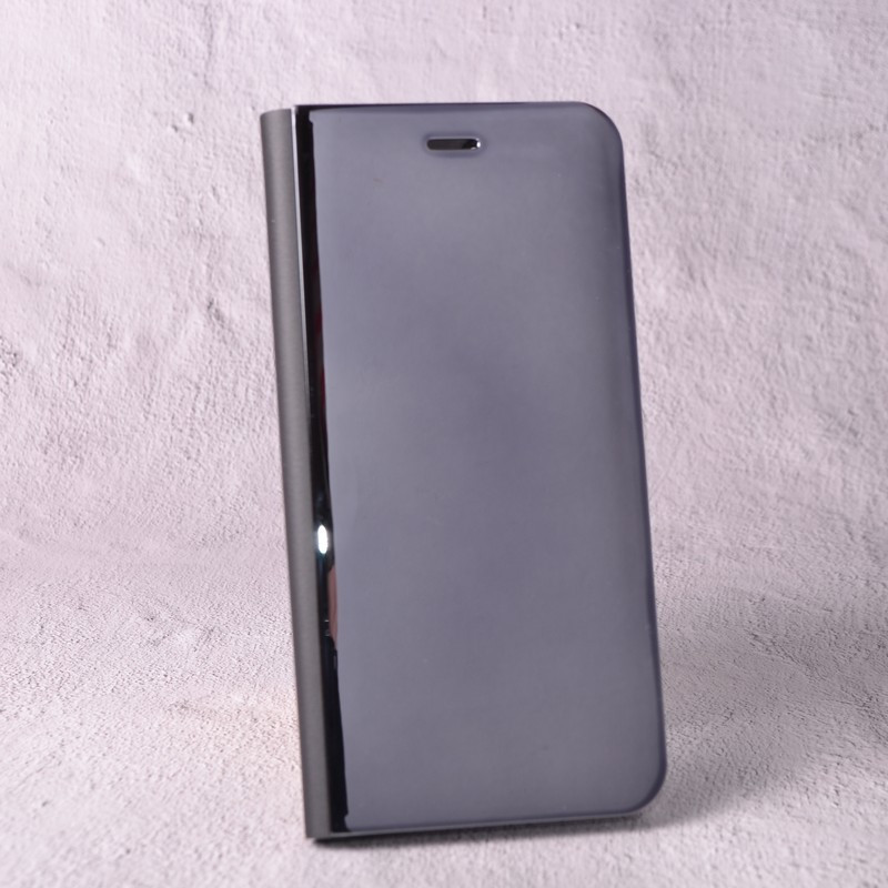 Чехол-книжка Clear Mirror для Huawei P8 Lite 2017 black