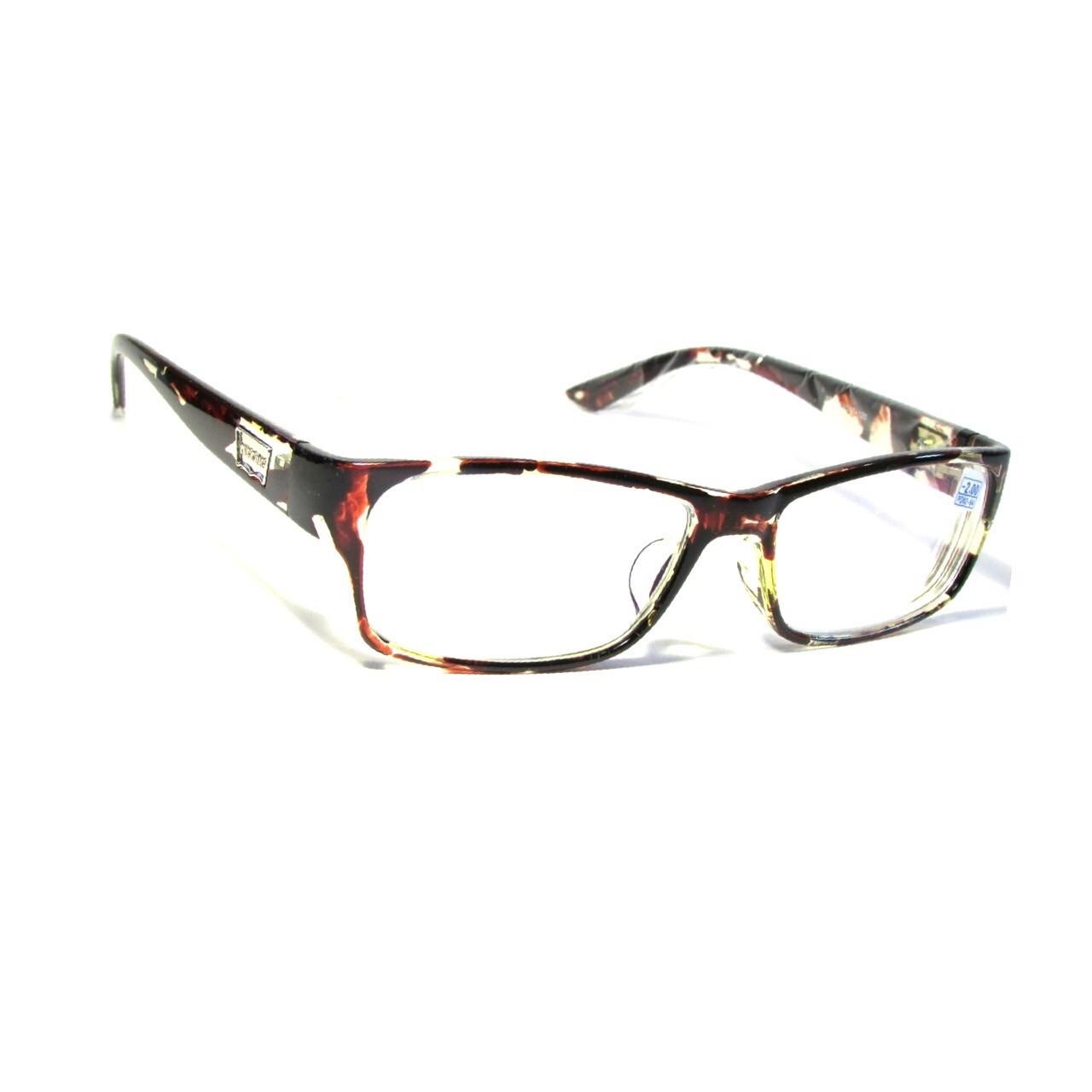 Очки для зрения в пластмассовой оправе